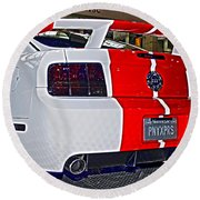 2006 Ford Mustang No 2 Round Beach Towel