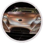 2007 Lexus Lf-a Exotic Sports Car Concept No 2 Round Beach Towel