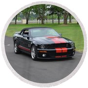 2008 Ford Cobra Weary Round Beach Towel