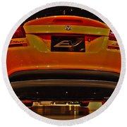 2009 Chicago Auto Showdodge Circuit Ev No 2 Round Beach Towel