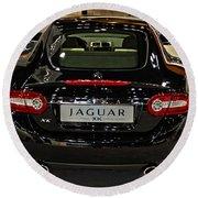 2009 Jaguar Xk Round Beach Towel