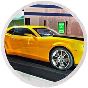 2010 Chevrolet Camaro Round Beach Towel