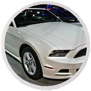 2013 Ford Mustang No 1 Round Beach Towel