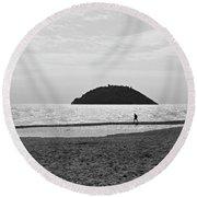 2013 Mar Ligure #03 Round Beach Towel
