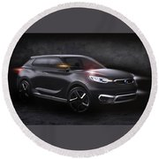 2013 Ssangyong Siv 1 Concept Round Beach Towel