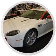 2016 Aston Martin Vantage Gt Coupe Round Beach Towel