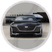 2016 Cadillac Escala Concept 3 Round Beach Towel