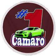 2016 Camaro Round Beach Towel