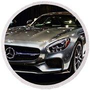 2016 Mercedes-amg Gts Round Beach Towel