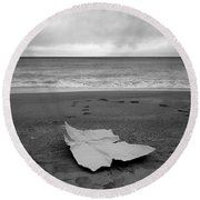 2017 Mar Mediterraneo #05 Round Beach Towel