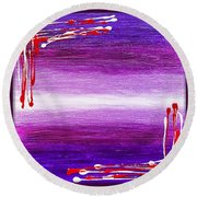 207917-24-27 Round Beach Towel