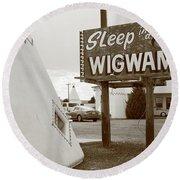 Route 66 - Wigwam Motel Round Beach Towel