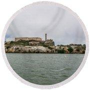 2253- Alcatraz Round Beach Towel