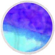 3-23-2015babcdefghijklmnop Round Beach Towel