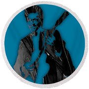 Chuck Berry Collection Round Beach Towel