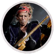 Keith Richards Collection Round Beach Towel