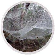 Australia - Concave Spider Web Round Beach Towel
