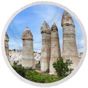 Cappadocia - Turkey Round Beach Towel