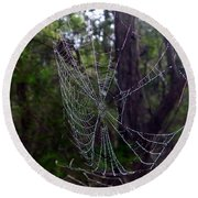 Australia - Uniquely Yours Spider Web Round Beach Towel
