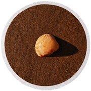 Beach Shell Round Beach Towel