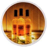 2701- Mauritson Wines Round Beach Towel