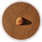 Beach Shell Round Beach Towel