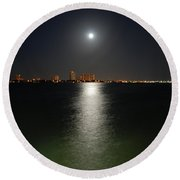 3-  Reflections Round Beach Towel