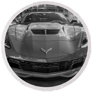 2015 Chevrolet Corvette Zo6 Painted  Round Beach Towel