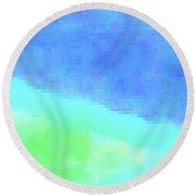3-23-2015babcdefghijklmnopqrtu Round Beach Towel