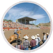 75th Ellensburg Rodeo, Labor Day Round Beach Towel