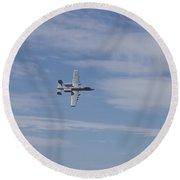 A U.s. Air Force A-10 Thunderbolt II Round Beach Towel