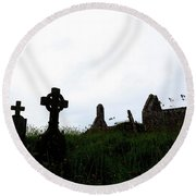 Ballingskelligs - Ireland Round Beach Towel