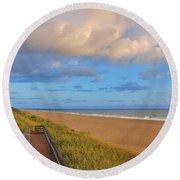 3- Juno Beach Round Beach Towel