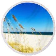 Beautiful Beach Round Beach Towel