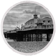 Brighton Pier Round Beach Towel