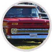 Chevy Pickup Round Beach Towel
