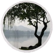 China Round Beach Towel