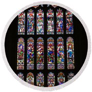 Christchurch Priory Round Beach Towel