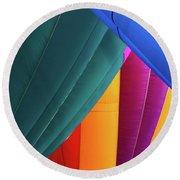 Colors Round Beach Towel