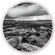 Dead Horse Point Round Beach Towel