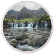 Fairy Pools - Isle Of Skye Round Beach Towel