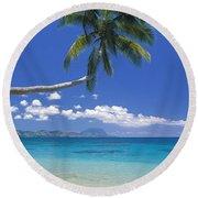 Fiji, Kadavu Island Round Beach Towel