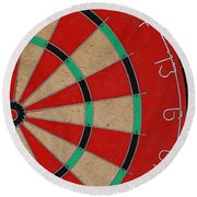 Half Board Round Beach Towel