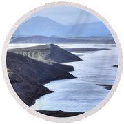 Landmannalaugar - Iceland Round Beach Towel