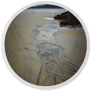 Luskentyre, Isle Of Harris Round Beach Towel