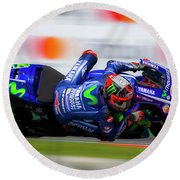 Motogp Round Beach Towel