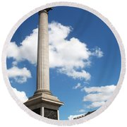 Nelsons Column Round Beach Towel
