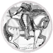 Robert Devereux (1591-1646) Round Beach Towel