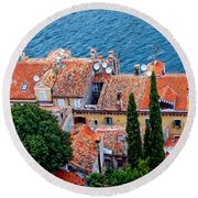 Rovinj - Croatia Round Beach Towel