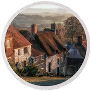 Shaftesbury - England Round Beach Towel